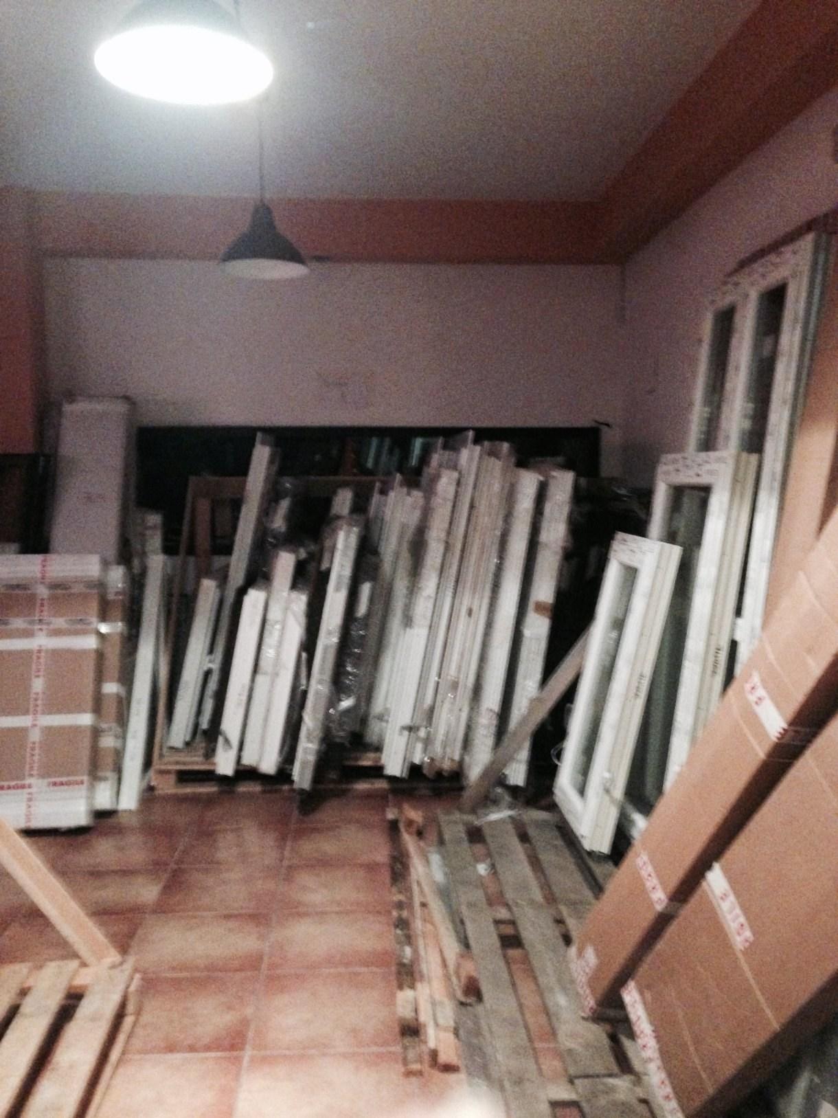 magazzino finestre dalla polonia