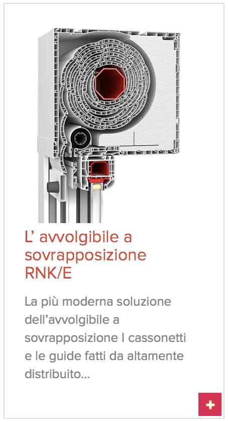 avvolgibile sovrapposizione rnk/f