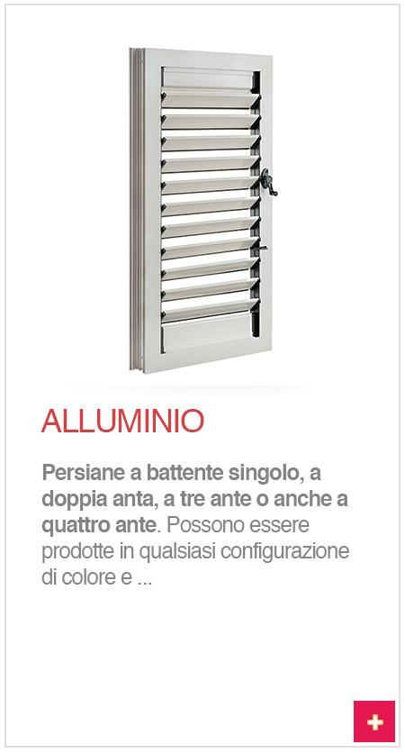 persiane alluminio